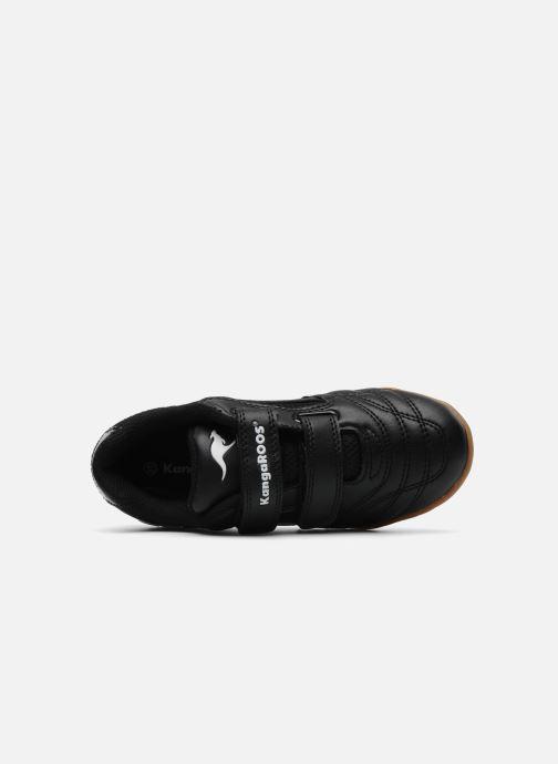 Sneaker Kangaroos Backyard schwarz ansicht von links