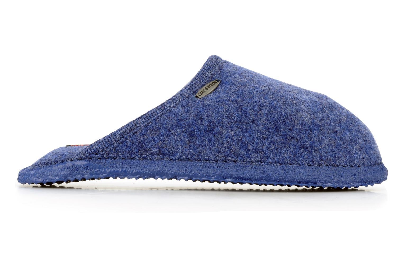 Pantofole Giesswein Tino W Azzurro immagine posteriore