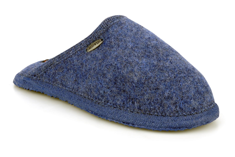 Pantuflas Giesswein Tino W Azul vista de detalle / par