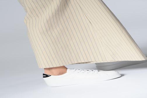 Baskets No Name Plato Sneaker Blanc vue bas / vue portée sac