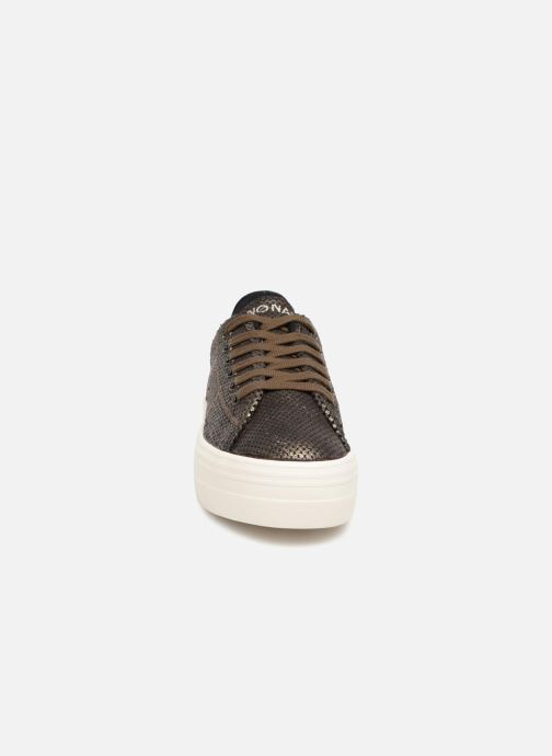 Baskets No Name Plato Sneaker Or et bronze vue portées chaussures