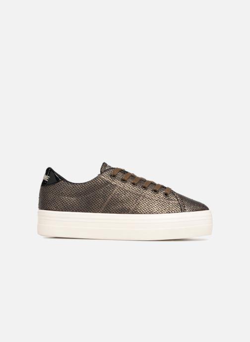 Baskets No Name Plato Sneaker Or et bronze vue derrière
