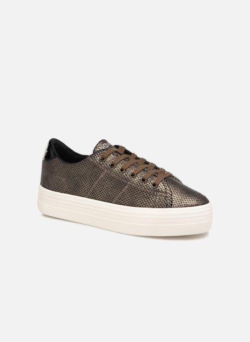 Sneakers No Name Plato Sneaker Goud en brons detail