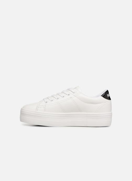 Baskets No Name Plato Sneaker Blanc vue face