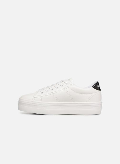 Baskets No Name Plato Sneaker Blanc vue face