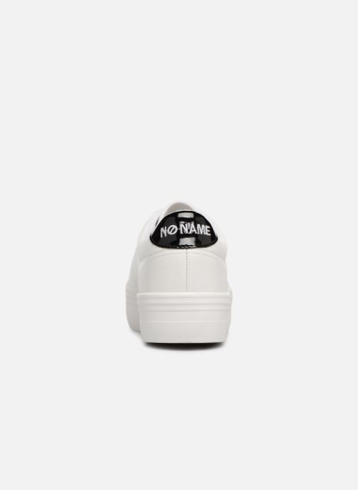 No Name Plato Sneaker (Wit) - Sneakers  Wit (White/black) - schoenen online kopen