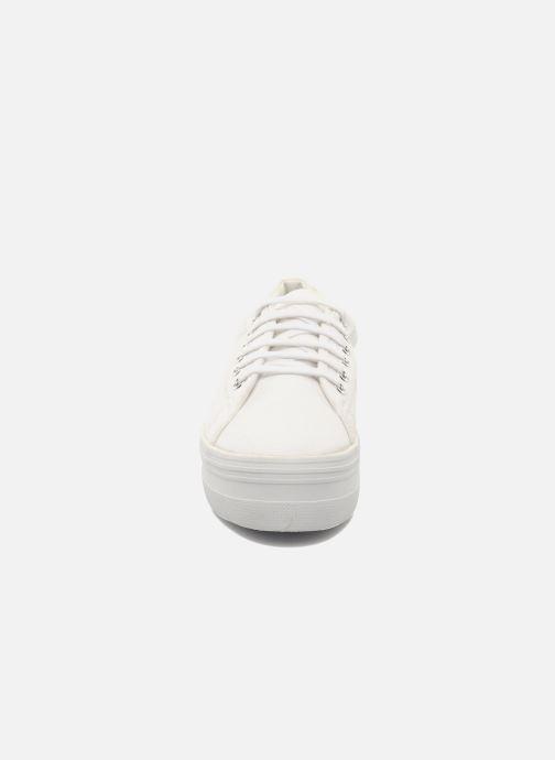 Sneakers No Name Plato Sneaker Bianco modello indossato