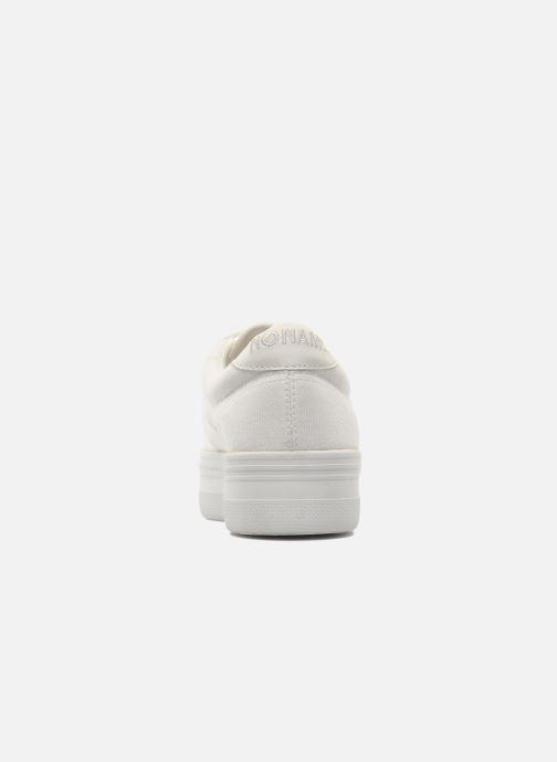 Baskets No Name Plato Sneaker Blanc vue droite