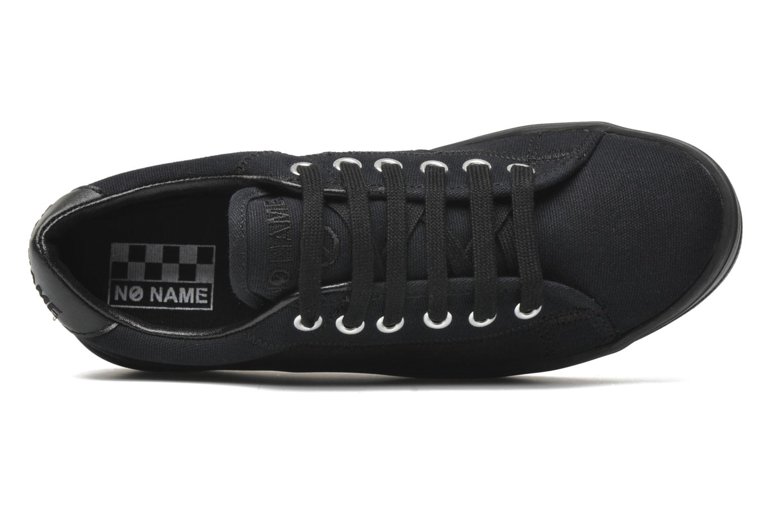 Trainers No Name Plato Sneaker Black view from the left