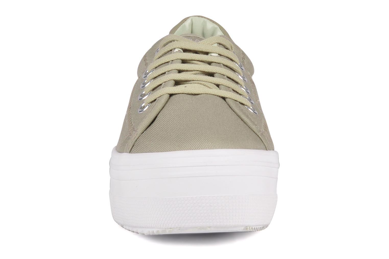 Baskets No Name Plato Sneaker Beige vue portées chaussures