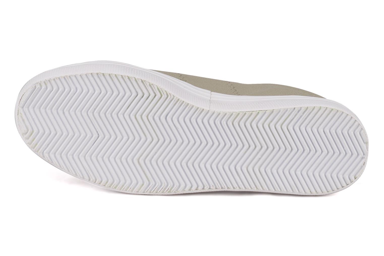 Baskets No Name Plato Sneaker Beige vue haut