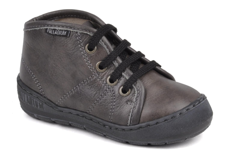 Sneakers Palladium Bador Nap Grijs detail
