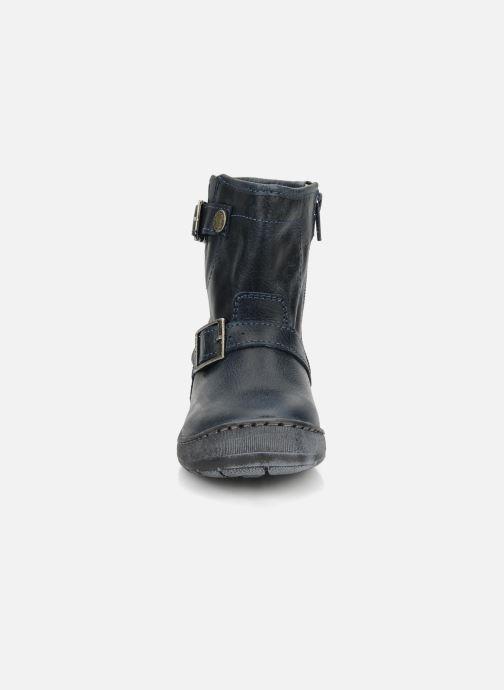 Bottines et boots Palladium Botto Bleu vue portées chaussures