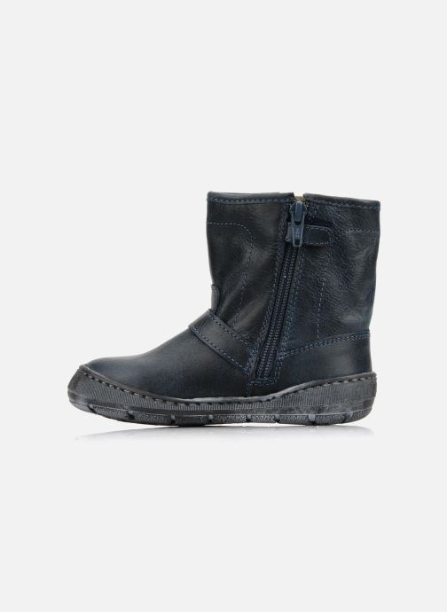 Ankle boots Palladium Botto Blue front view