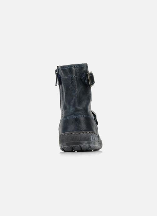 Ankle boots Palladium Botto Blue view from the right