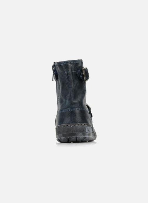 Bottines et boots Palladium Botto Bleu vue droite