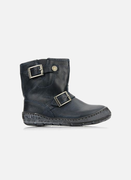 Ankle boots Palladium Botto Blue back view