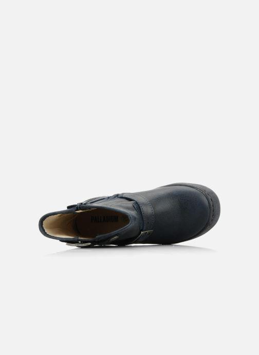 Bottines et boots Palladium Botto Bleu vue gauche