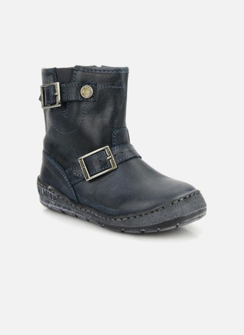 Ankle boots Palladium Botto Blue detailed view/ Pair view