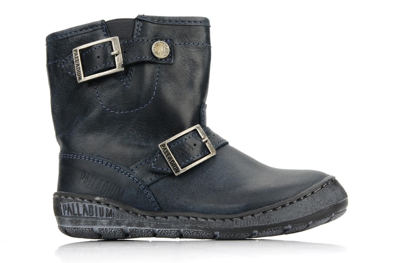 Boots en enkellaarsjes Palladium Botto Blauw achterkant