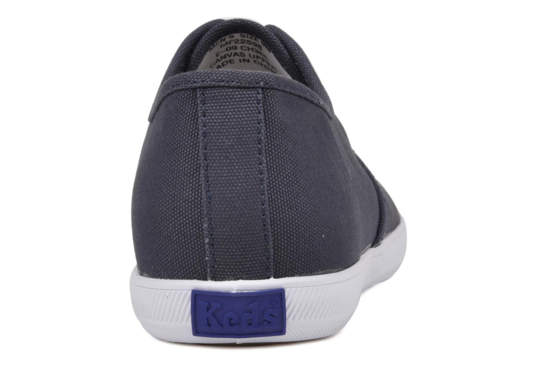 Sneakers Keds Champion Cvo M Azzurro immagine destra
