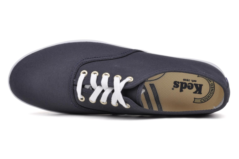 Sneakers Keds Champion Cvo M Azzurro immagine sinistra