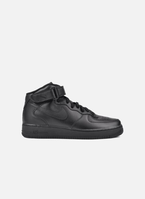 Sneaker Nike Air Force 1 Mid schwarz ansicht von hinten
