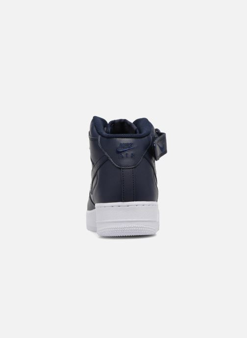 Sneakers Nike Air Force 1 Mid Blauw rechts