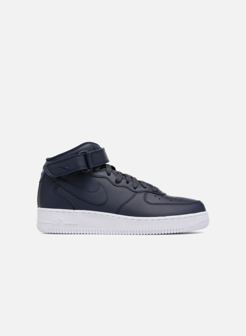 Baskets Nike Air Force 1 Mid Bleu vue derrière