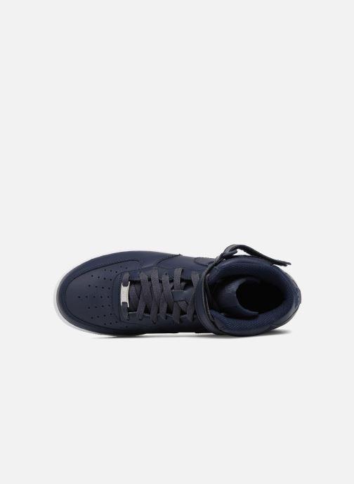 Baskets Nike Air Force 1 Mid Bleu vue gauche