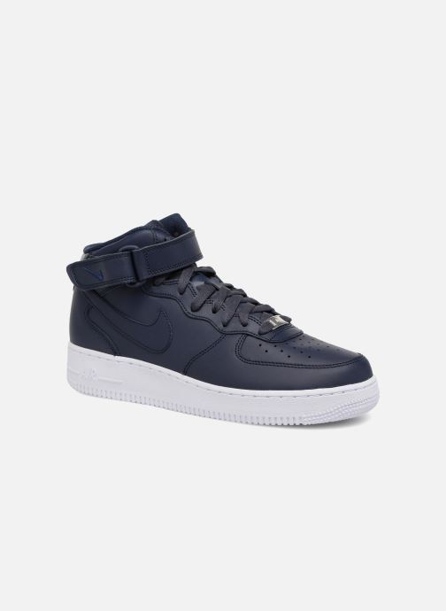 Sneakers Nike Air Force 1 Mid Blauw detail