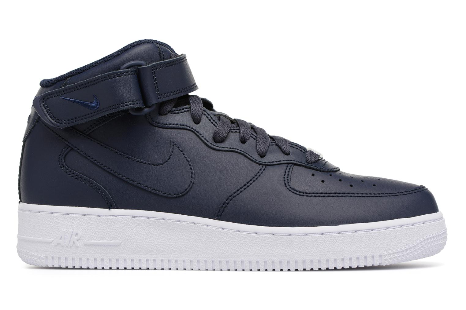 Trainers Nike Air Force 1 Mid Blue back view