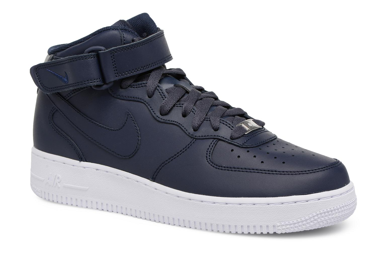 Trainers Nike Air Force 1 Mid Blue detailed view/ Pair view
