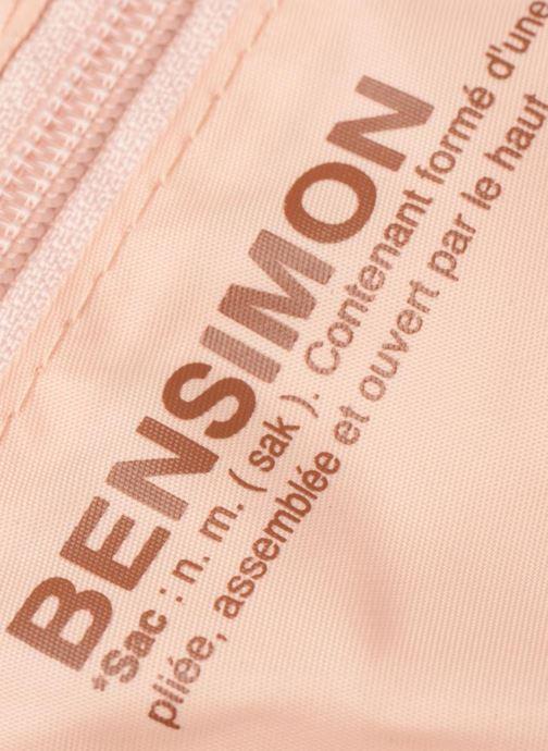 Bolsas de deporte Bensimon Shoulder Bag Rosa vista lateral izquierda