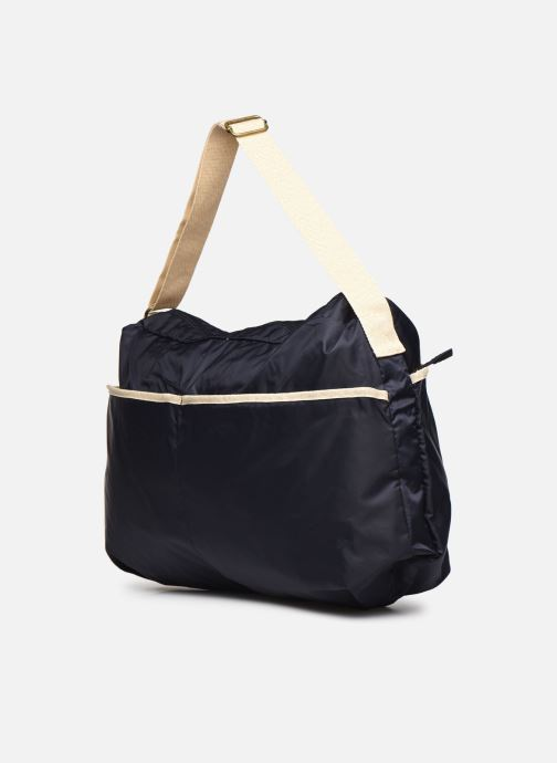 Bolsos de mano Bensimon Shoulder Bag Azul vista lateral derecha