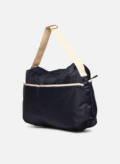 Handtaschen Bensimon Shoulder Bag blau ansicht von rechts