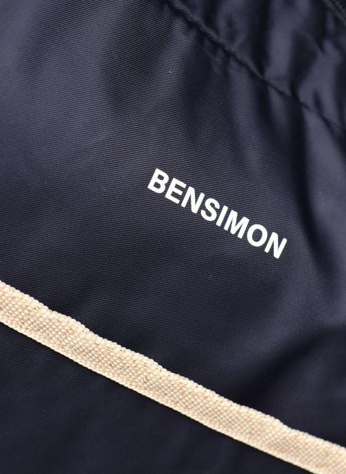 Handtaschen Bensimon Shoulder Bag blau ansicht von links