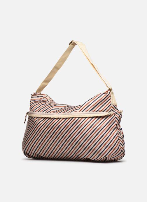 Borsa da palestra Bensimon Shoulder Bag Multicolore modello indossato
