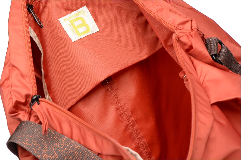Sporttassen Bensimon Shoulder Bag Oranje achterkant
