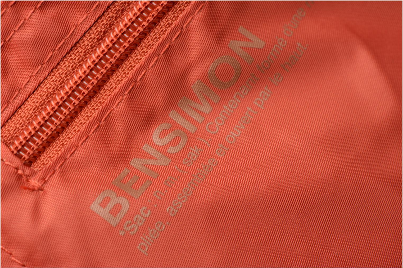 Sporttassen Bensimon Shoulder Bag Oranje links