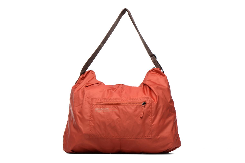Sporttassen Bensimon Shoulder Bag Oranje detail