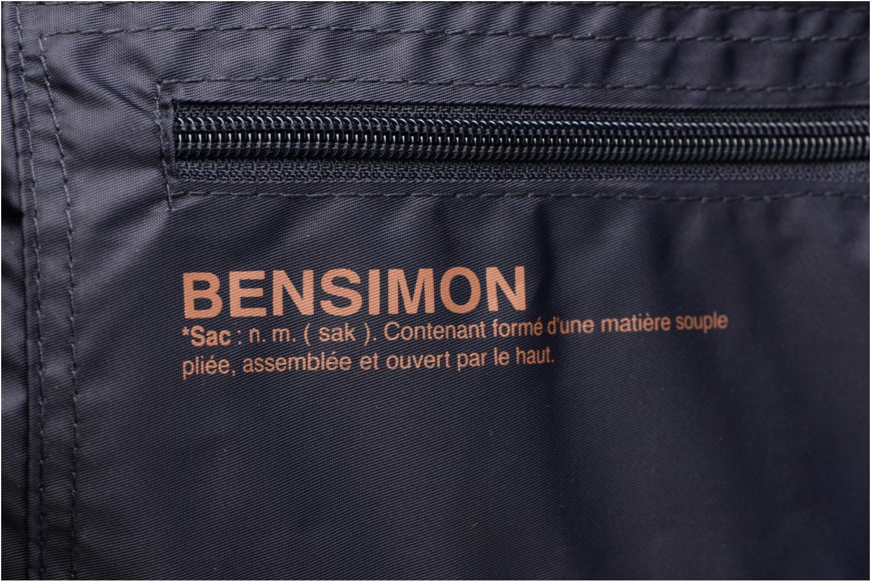 Sacs de sport Bensimon Shoulder Bag Bleu vue gauche
