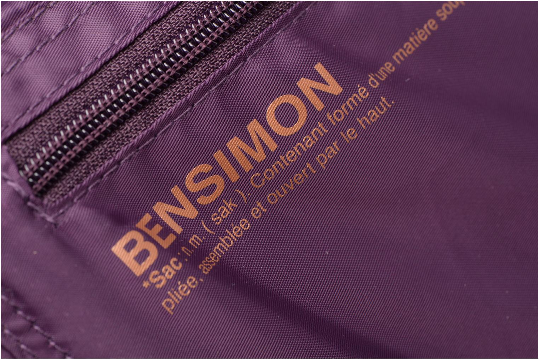 Sporttassen Bensimon Shoulder Bag Paars links