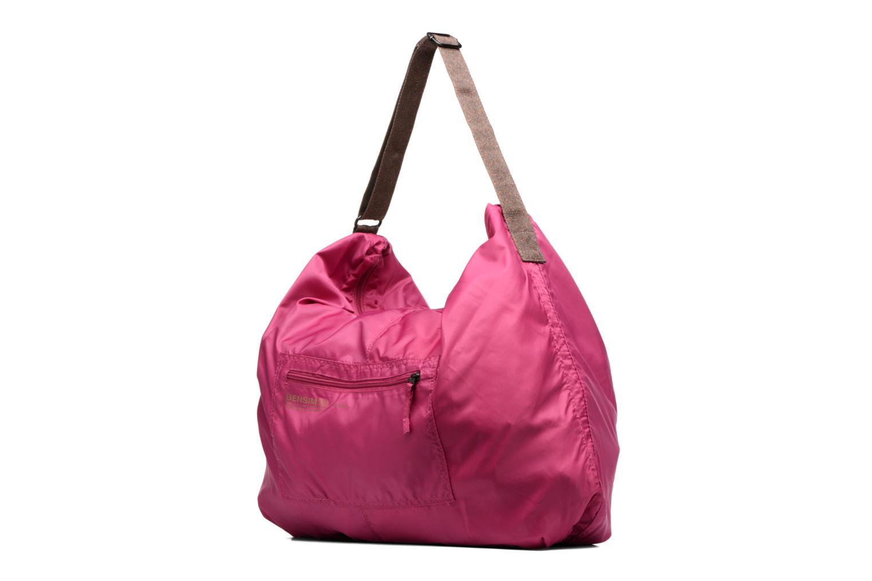 Sacs de sport Bensimon Shoulder Bag Rose vue portées chaussures