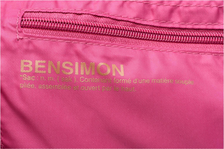 Sacs de sport Bensimon Shoulder Bag Rose vue gauche