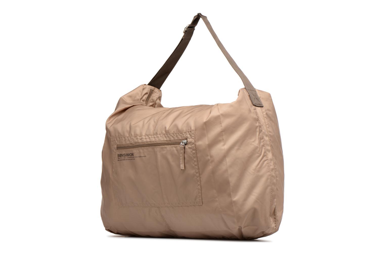 Sporttassen Bensimon Shoulder Bag Beige model