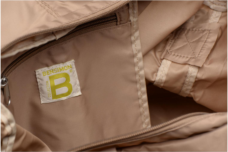 Sporttassen Bensimon Shoulder Bag Beige achterkant