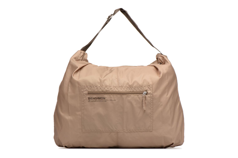 Sporttassen Bensimon Shoulder Bag Beige detail