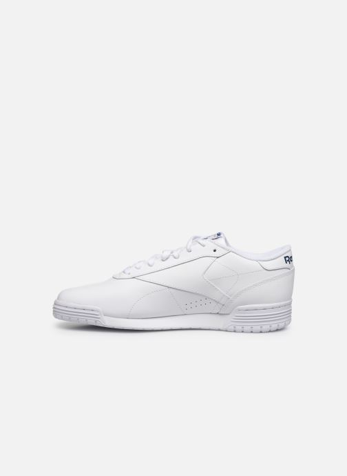 Sneakers Reebok Exofit Lo Clean Logo Int Bianco immagine frontale