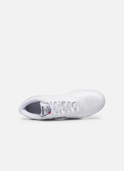 Sneakers Reebok Exofit Lo Clean Logo Int Bianco immagine sinistra